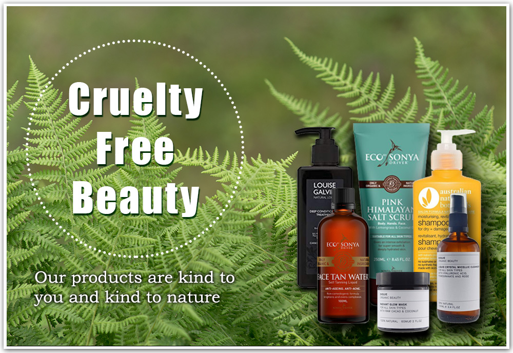 Cruelty Free beauty products